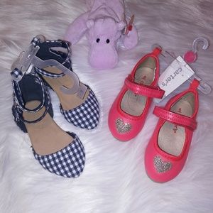 (2) Girls Shoes